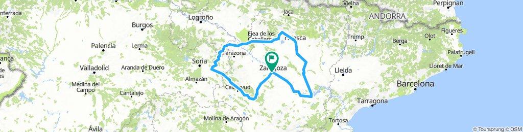 Brevet Randonneur 600K Zaragoza 2019