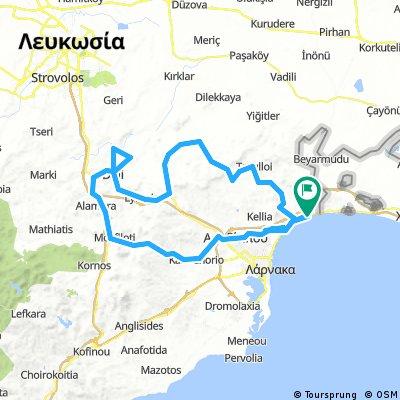 RoadbikeCyTour Lordos-Dali-Lordos