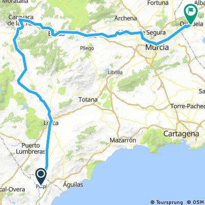 Euro Velo 8 Murcia