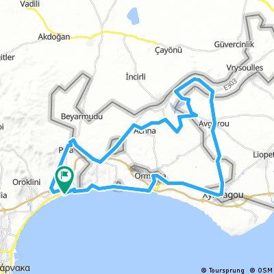 RoadbikeCyTour Lordos-Achna Dam-Pyla-Lordos