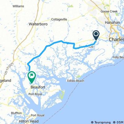 14 Beaufort - Charleston