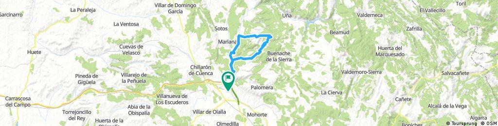 Cuenca - Valdecabras - Hocecilla - Cuenca
