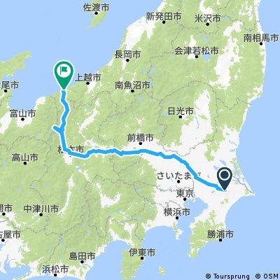 成田空港,輕井澤,松本城,立山黑瀑,系魚市。