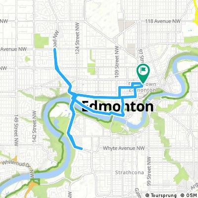 Edmonton Velothon (adapted)