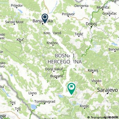 Balkan 18 - S3 Banja Luka to Kute v2