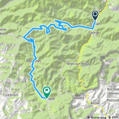 Fontan to Sospel via Col de Turini