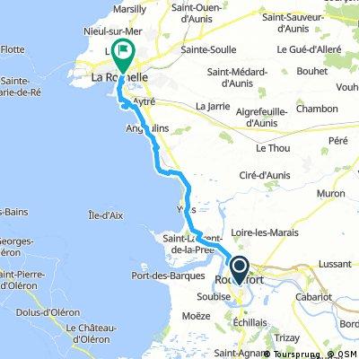 Rochefort to La Rochelle