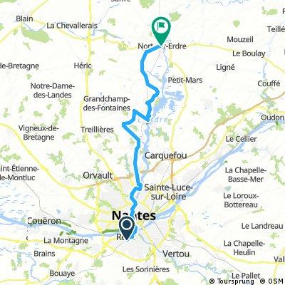 Reze, Nantes to Nort-sur-Erdre