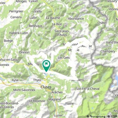 Tag 3 - Taninges - Avoriaz - Col de Joux Plane