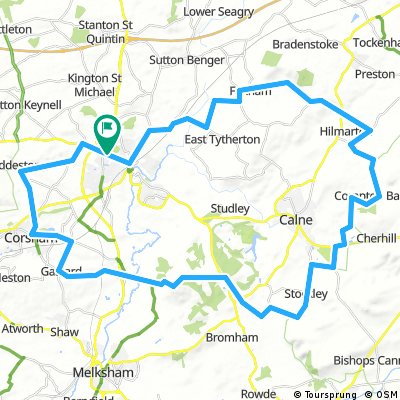 Chippenham 35 mile loop