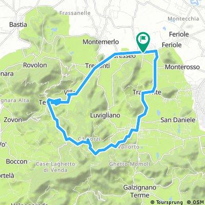 Teolo Castelnuovo loop