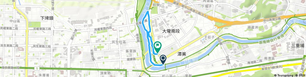 台北河濱右岸