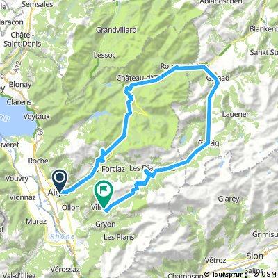 Ride the Alps vaudoises
