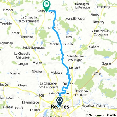 Rennes - Combourg