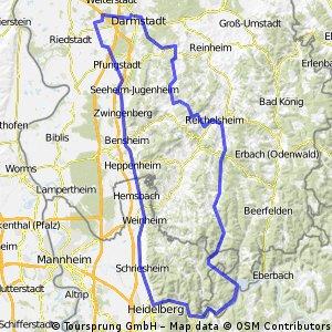 Rundkurs DA - HD - Hirschhorn - DA