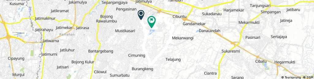 Mutiara Gading - Cibuntu - Lambang Jaya - Cibeureum