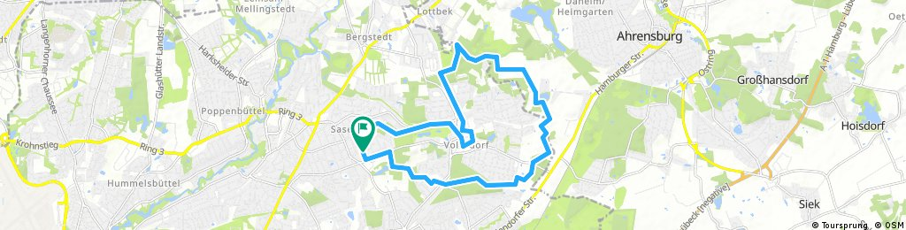 Rund um Volksdorf