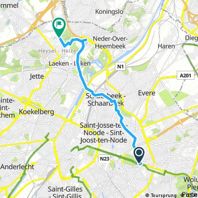 Bruksela: Park  de C. - Park de Laeken