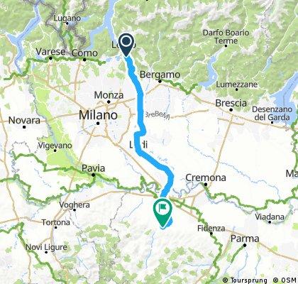 4.Etappe neu Lecco Cascinotta
