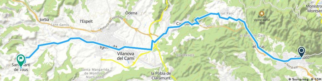 Collbató - San Martí de Tous