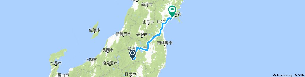 Test Route - Japan