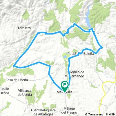 Malaguita_Puebla de Beleña 60km