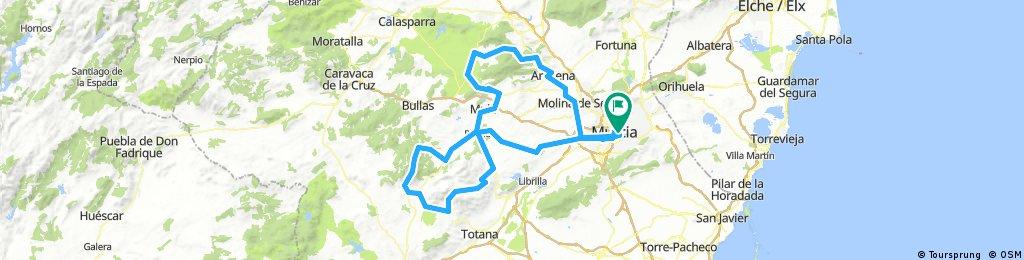 Valle de Ricote al Malvariche