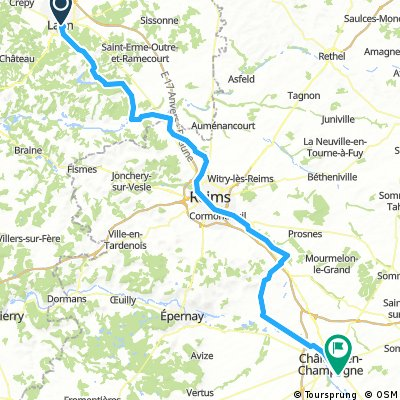 Section 4 Laon to Champagne
