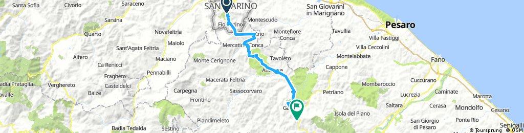 San Marino - Urbino