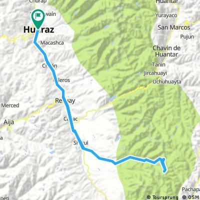 Huaraz - Pasto Ruri & Paso Huarapasca