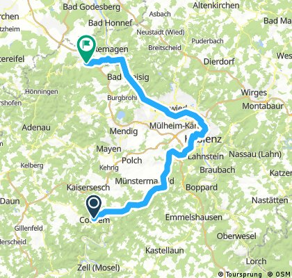 Cochem-Koblenz-Bad Neuenahr