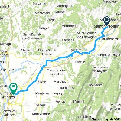 A 03-04-SAINT MARCELLIN/VALENCE 56 KM