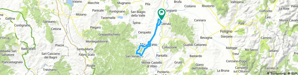 gravellata a San Venanzo