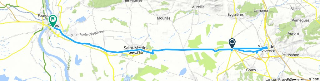 A 09-04-ARLES/SALON DE PROVENCE 49.7KM