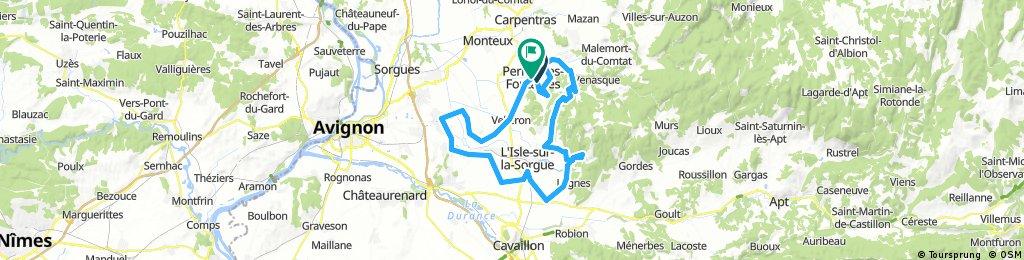 70 km autour de Pernes