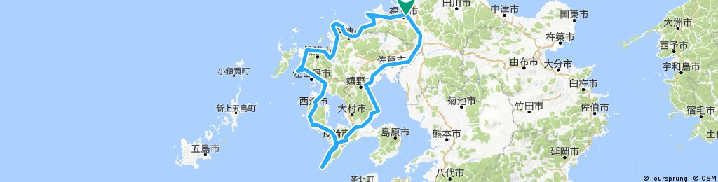 Fukuoka Nagasaki circuit
