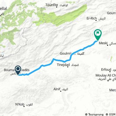 Tour du Maroc - FL Boumalne Dades to Errachidia