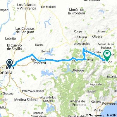 Jerez de la Frontera-Ronda