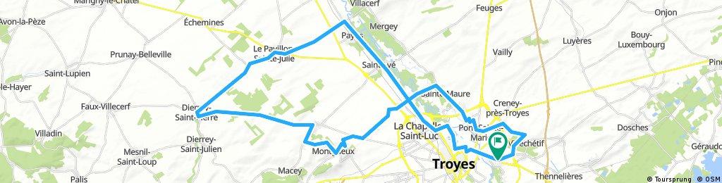 Vallée de la Seine Parcours N°2