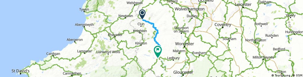 day 1 bishops castle to hereford