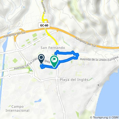 Testfahrt durch San Fernando