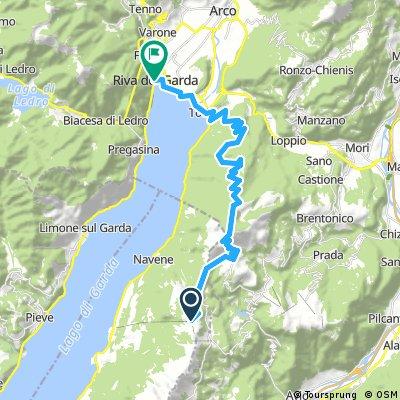 Von Monte Baldo nach Riva del Garda 1