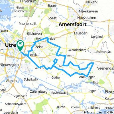 D'r op en Over: Rondje Utrecht - Heuvelrug - Utrecht