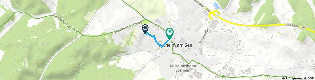 Nelkenstraße mach Trierer Straße