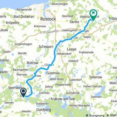 2018-05 Dabel - Ehmkendorf 83km