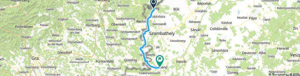 2.nap: Kőszeg - Ausztria - Körmend