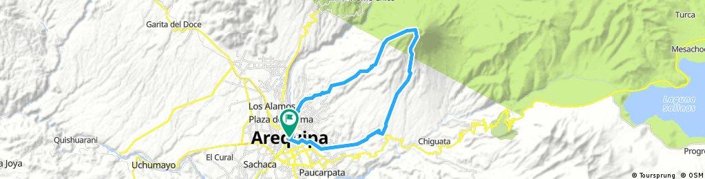El Misti - Bike and Hike or hike only