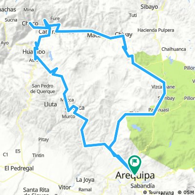 Arequipa - Colcacanyon - Runde
