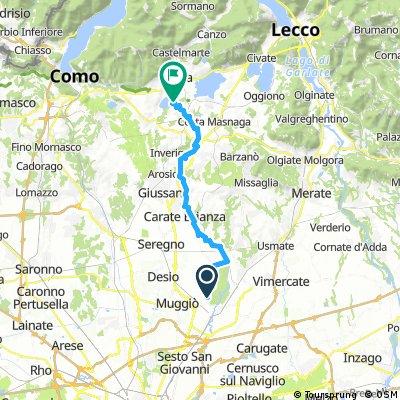 Monza-Lago Alserio