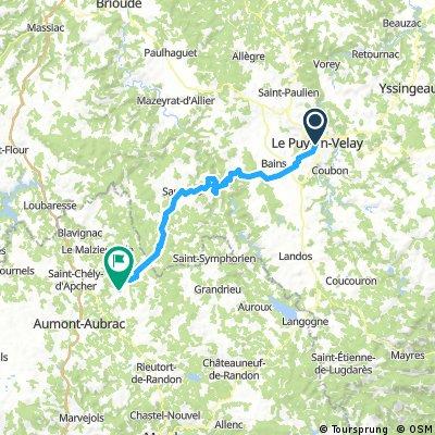 Tappa 13 | Le Puy - St - Alban sur Limagnole